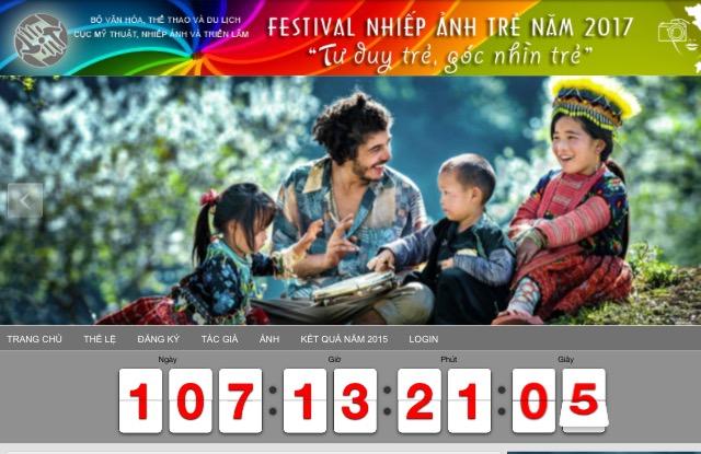 """Thể lệ: Festival Nhiếp ảnh trẻ năm 2017 chủ đề """"Tư duy trẻ, góc nhìn trẻ""""."""