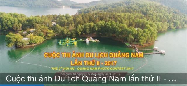 Thể lệ Cuộc thi ảnh Du lịch Quảng Nam lần II – 2017