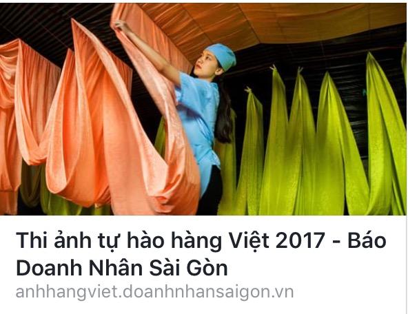 """THỂ LỆ CUỘC THI ẢNH """"TỰ HÀO HÀNG VIỆT 2017"""""""